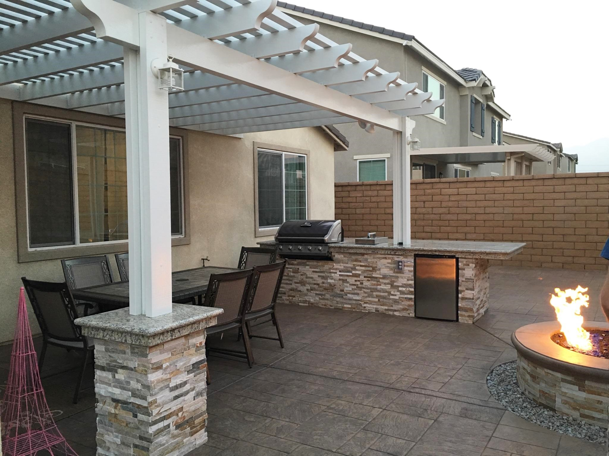 Patio Covers Concrete Slabs Hardscape Room Additions Contractor