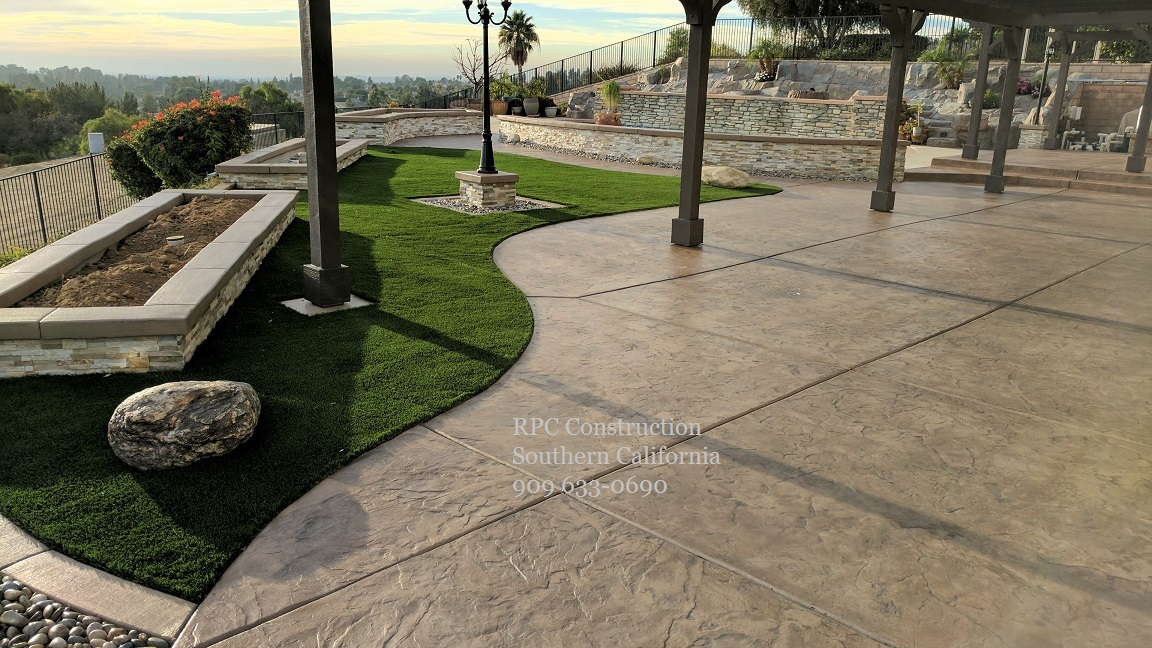 Landscape Contractor Pavers Patio Covers Concrete Southern Ca