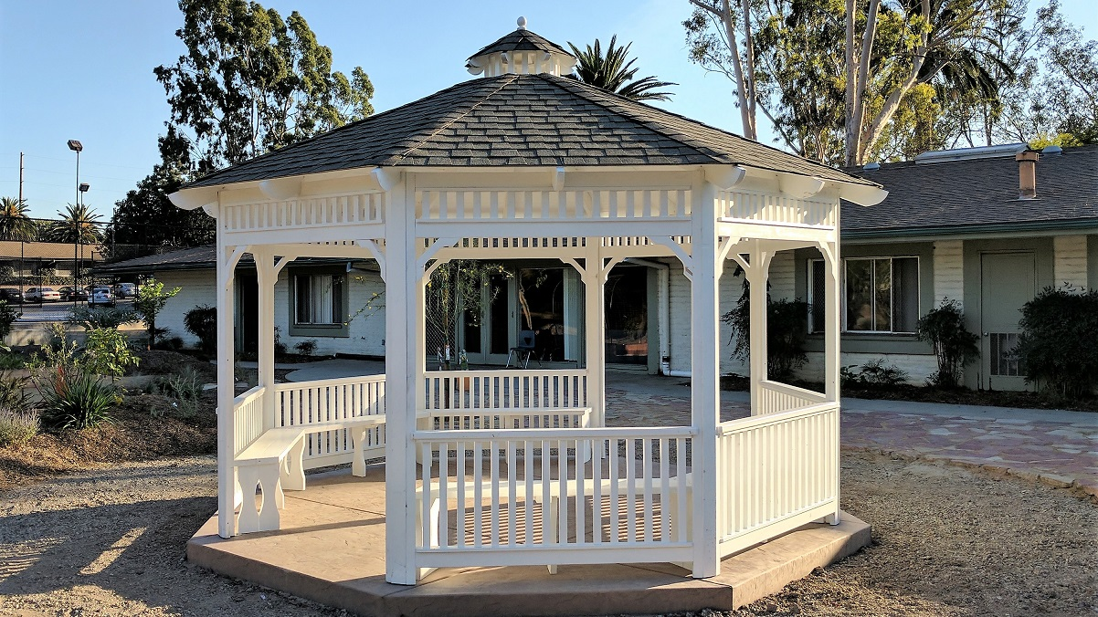 California Gazebos Plus Unique Outdoor Daybeds Pergolas Covers